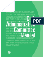 Rotary International Club Administration Committee Manual 226a_en
