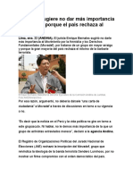 Bernales sugiere no dar más importancia al Movadef porque el país rechaza al terrorismo.doc