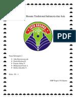 Mengenal Ciri Busana Tradisional Indonesia Dan Asia