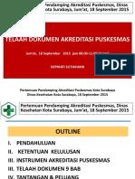 1. Telaah Dokumen Akreditasi Puskesmas 18 September 2015.pptx