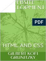 16929061 447865733website Development HTML and Css - Gilbert Kofi Grunitzky