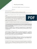 Direito Processual do Trabalho.docx