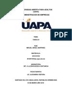 Int. a La Educacion a Distancia Tarea 9