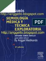 Semiologia Medica de Suros