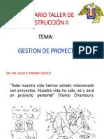 Semana 01 - Gestion de Proyectos