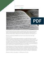 Métodos Para Mejorar Su Capacidad de Leer Partituras