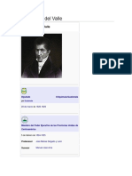 José Cecilio Del Valle Biografia