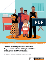 Training of Child Protection Actors on Key Competencies in Caring for Children in Adversity and their Families