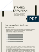 Strategi Perpajakan