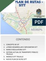 Presentación Del SISTEMA INTEGRAL DE TRANSPORTE  TRUJILLO
