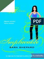 Implacable - Sara Shepard.epub