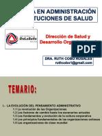 1a Sesión DSyDO Evolución del Pensamiento Administrativo