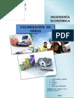 Informe de Valorizaciones - Final