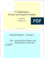 S1 L01 Positive and Negative Number