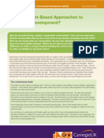 What Are Asset-Based Approaches to Community Development