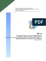 Projeto Conceitual Sistema NFe Versao 22-07-06