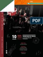 100x120 Trz Concierto Santiago Big Band Original