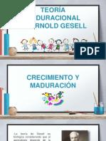 t. Maduracional de Gesell