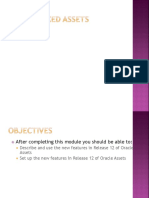 Oracle Fixed Assets