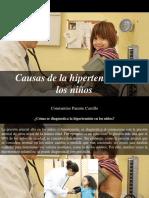 Constantino Parente Castillo - Causas de La Hipertensión en LosNiños