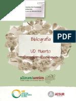 Bibliografía de Unidad didáctica huerto escolar ecológico