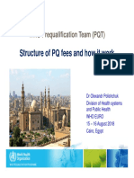 Structure PQ Fees and How t Work Cairo AUG2018