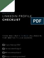 Break into TechL LinkedIn Profile Checklist.pdf