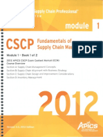 APICS--Book 1 - Fundamentals of SCM