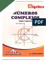 Cuzcano - Álgebra - Números Complejos