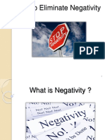 How to Eliminate Negativity