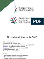 1. Organismos internacionales
