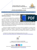 Comunicado Armada Sobre La Búsqueda de Los Pescadores (1)
