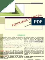 Fisiología Vegetal i