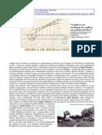 Prospección Sísmica de Refracción