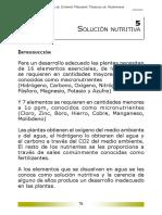 NUTRICION PLANTAS