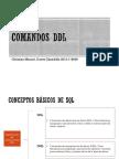 Comandos DDL