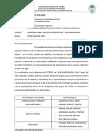 Informe de Creacion y Gestion de Empresas