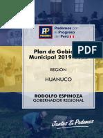 Plan Progreso Peru