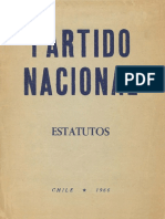 Partido Nacional Estatutos