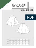 Wrap Skirt Instructions