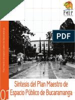 Sintesís Del Plan Maestro de Espacio Público de Bucaramanga