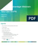 Next Gen MVPN Webinar