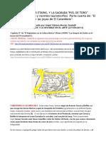 El Carambolo, Sus Etapas, y La Sagrada Piel de Toro Altares, Pectorales y Recintos Tauromorfos