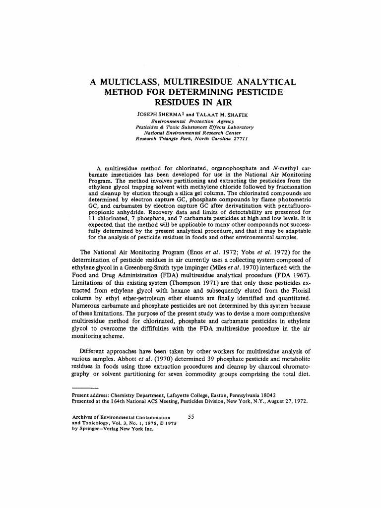 55-71 | Chromatography | Gas Chromatography