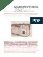 La Tarshish Bíblica y Los Altares Aparecidos en Tartessos, Semejantes a Los Canaaneos