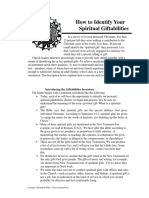 How to Identify Your Spiritual Giftabilities