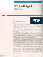 Chapter 09 Fet Small Signal Analysis