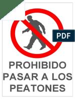 Rotulo-prohibido-pasar a Los Peatones