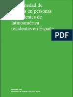 Enfermedad de Chagas en personas procedentes de latinoamérica residentes en España