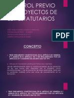 Control Previo de Proyectos de Ley Estatutarios-lorena Final